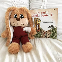 Bundle deal! Buy plush Miles and Miles and the Sneaky Squirrels.<br> $30
