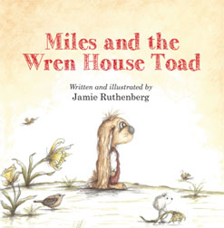 Miles and the Wren House Toad